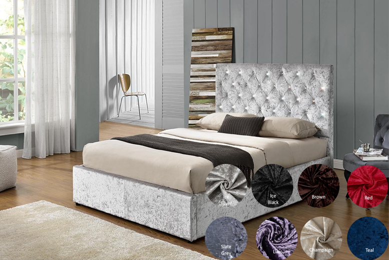 From £259.99 for a bedstead bed with archetypal chesterfield headboard from Dreamtouch Mattresses LTD – save up to 63%