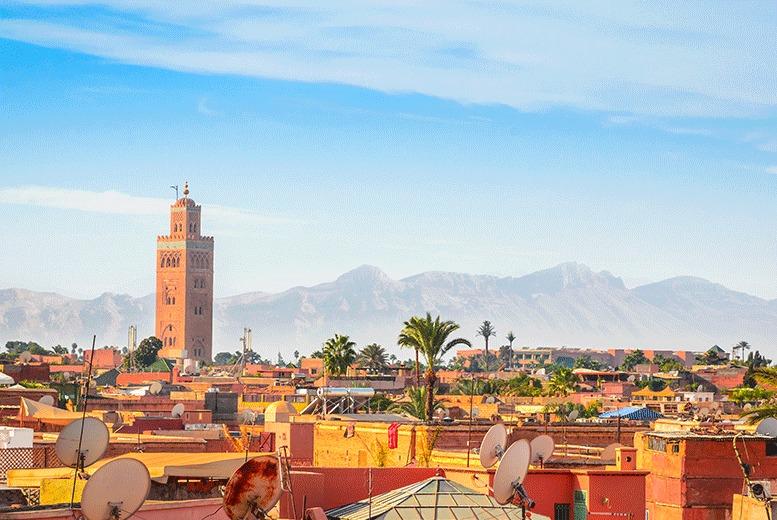 European City Breaks: 7nt 4* All-Inclusive Marrakech Holiday - Winter Sun Dates!
