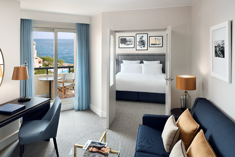 European City Breaks: Monaco Beachfront, Helicopter Transfer & Flights - Deluxe Room!