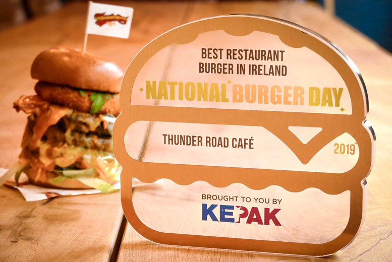 Restaurants & Bars: Thunder Road Café Burger & Fries for 2