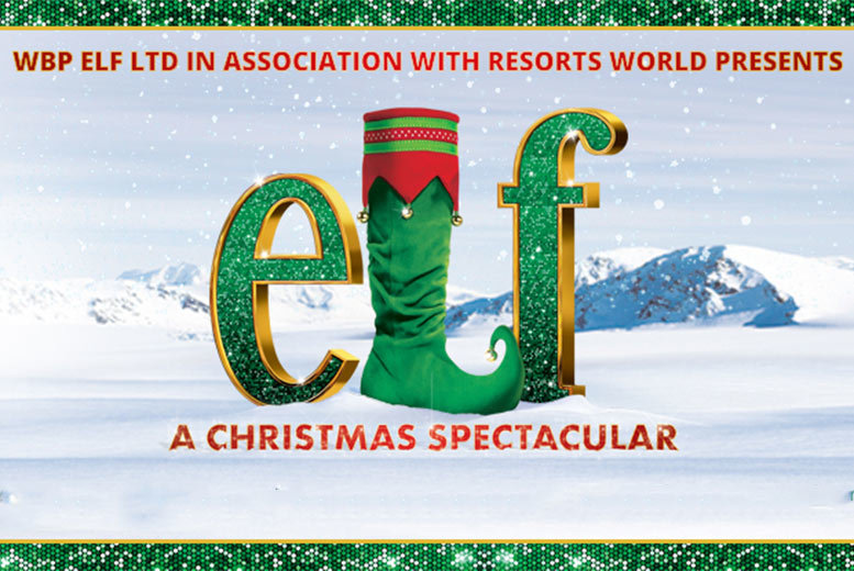 Entertainment: Elf: A Christmas Spectacular Live Ticket - 3 Locations!