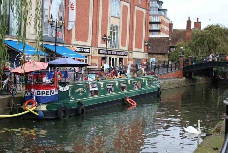 Activities: High Tea & Boat Ride For 2 @ Moonraker Floating Tearoom, Lincoln