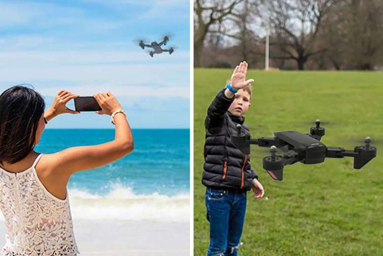 SmartPhone RC Quadcopter Drone with Optional HD Camera 2 Colours!