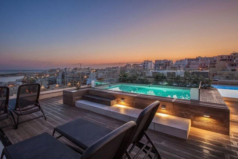 Beach Holidays: 4* Mellieha, Malta Holiday & Flights - Award-Winning Hotel!