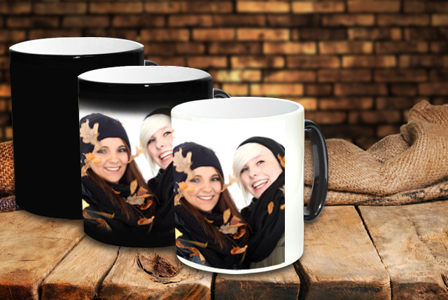 £5.99 instead of £11.99 (from Pixa Prints) for a personalised 'heat to reveal' mug, £9.99 for 2 mugs - save up to 50%