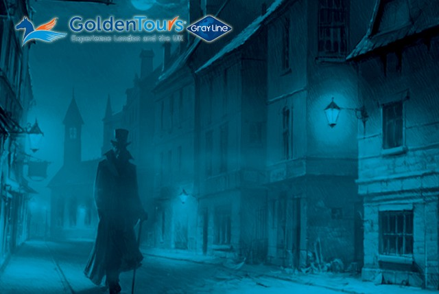 £5 instead of £10 for a 90 minute Jack the Ripper walking tour of east London with Golden Tours - save a spine tingling 50%