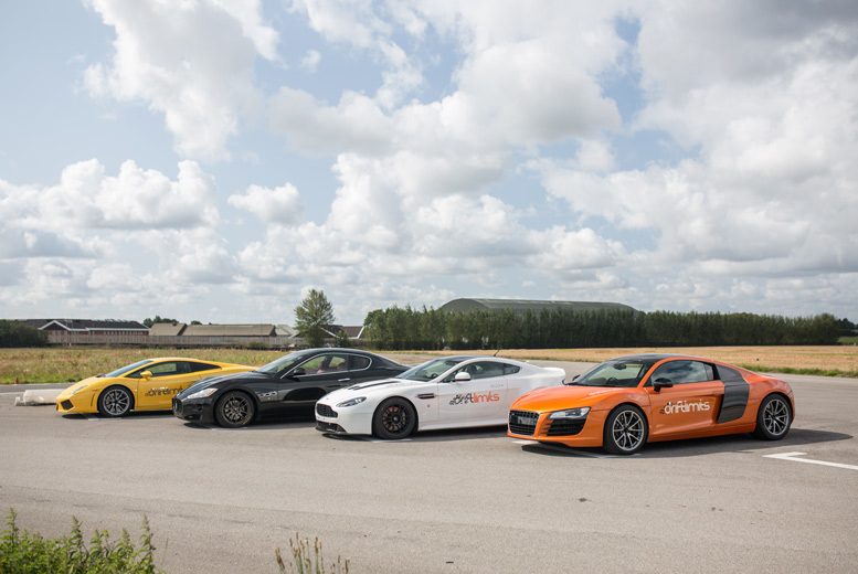 Activities: 8 or 16-Lap Supercar Driving Experience - 20 Secret Supercars!
