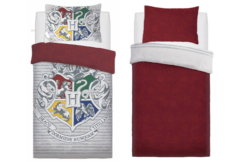Harry Potter Reversible Duvet Cover Set – 5 Designs! (£14.99)