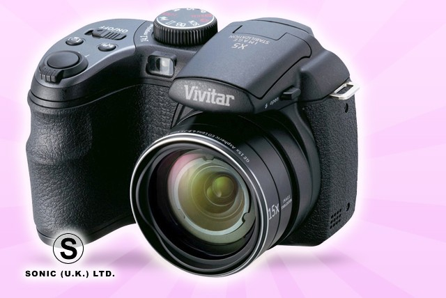 £129.99 for a Vivitar VS1527 digital bridge camera with 18x optical zoom - capture those special moments + FREE DELIVERY