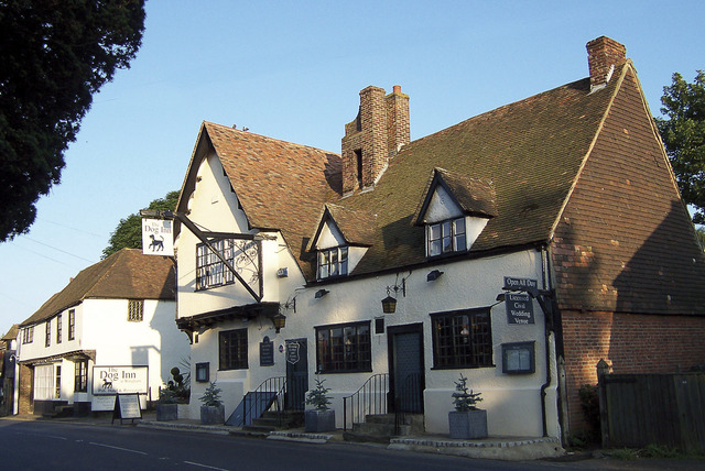 £39 (at The Dog Inn, Wingham) for a 1nt stay for 2 people inc. breakfast, £69 for 2nts, £89 for 3nts - save up to 61%