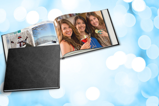 £24.99 instead of £59.48 (from Bonusprint) for an XL personalised 50-page photo book with faux leather cover - showcase your snaps and save 58%