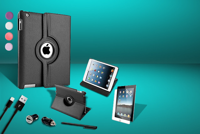 £11.99 instead of £39.99 (from Mixture Store) for an iPad case bundle for iPads 2, 3 and 4 – save 70%