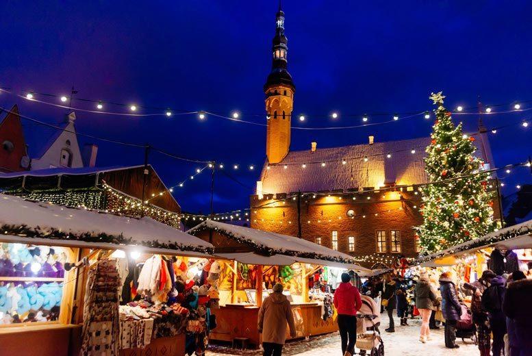 European City Breaks: 4* Tallinn Christmas Market Break, Breakfast & Flights