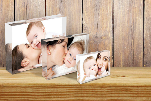 £19 instead of £74.99 (from 1clickprint) for three acrylic photo blocks in A5, A6 and A7 size - save 75%