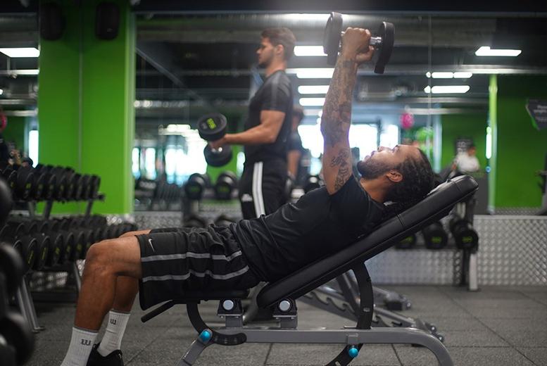 Fitness: 1mth Gym Membership @ Energie Fitness, Bridgwater