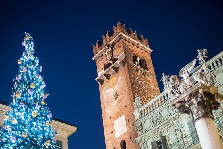 European City Breaks: 4* Central Verona Christmas Market Break, Breakfast & Flights