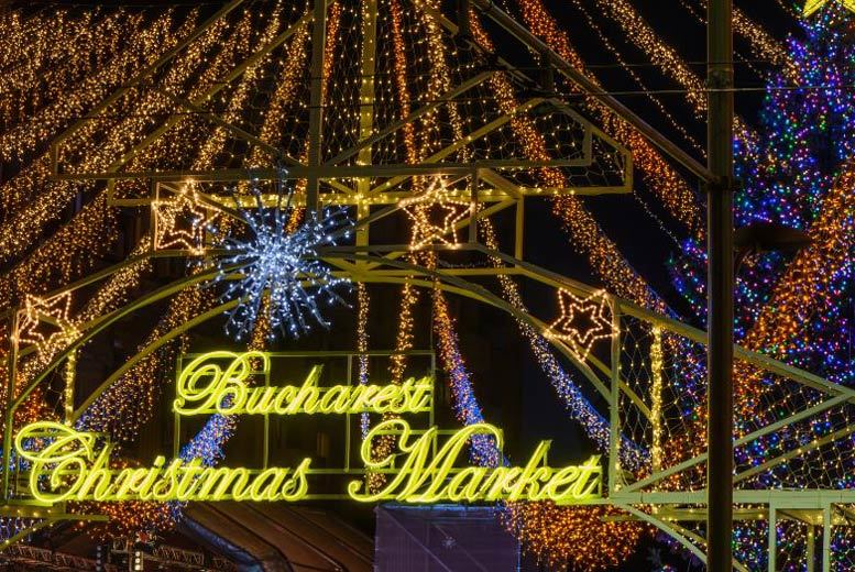 European City Breaks: 4* Bucharest Christmas Market Mini-Break, Breakfast & Flights