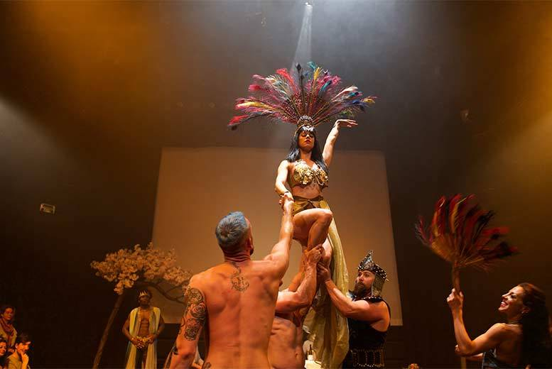 Entertainment: Burlesque & Twisted Circus Show @ Fire, Vauxhall – Dining Upgrades!