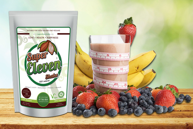 £18.99 instead of £39.99 (from Super Eleven Shake) for a 30-day detox shake kit, or £28.99 for 60-days - save up to 53%