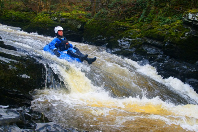 £28 instead of £59 for a half day white water tubing experience with White Water Tubing UK, North Wales – water way to go and save 53%