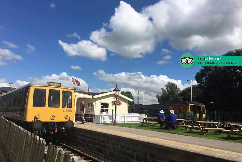 Activities: Peak District Train Tour for 1, 2 or 5 @ Ecclesbourne Valley Railway