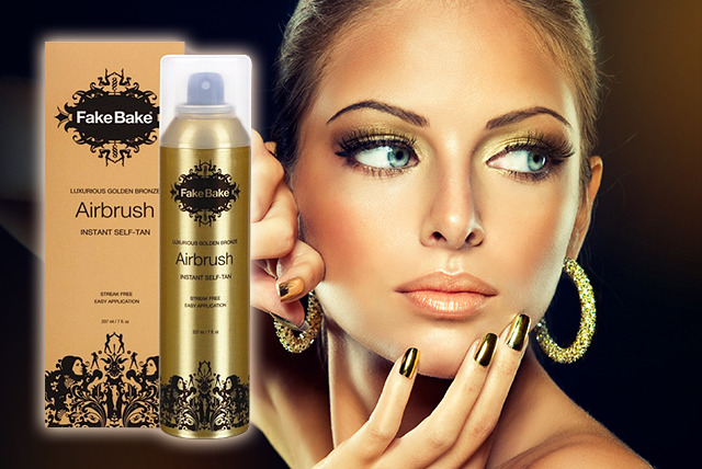 £11.95 instead of £19.80 (from The Beauty Store) for a 210ml Fake Bake golden bronze airbrush instant self-tan spray - save 40%