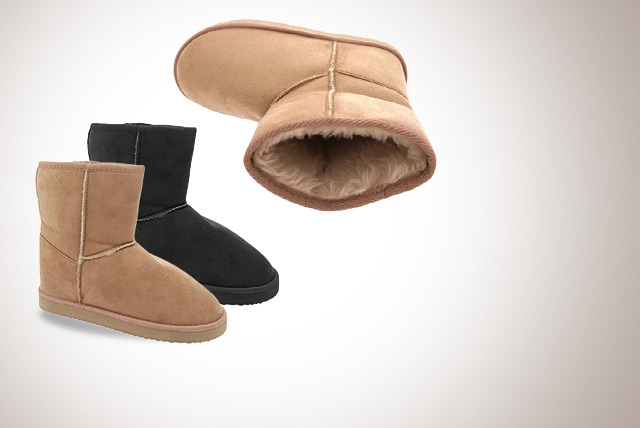 £6 instead of £20 (from Urshu) for a pair of women's fleece-lined Snugg boots, or £10 for two pairs - save up to 70%