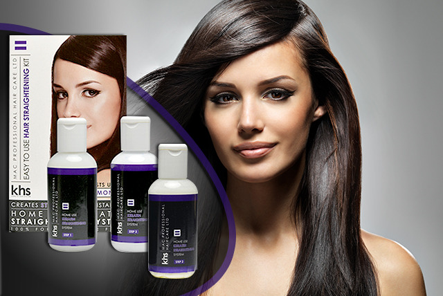£17.95 instead of £34.98 (from Alcina) for a 5-piece Keratin Hair System Straightening bundle - save 49%