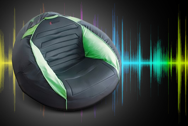 £49.99 instead of £107.99 (from Giinii.co.uk) for a large X-Rocker gaming & multimedia beanbag compatible with Xbox, PlayStation & more - save 54%