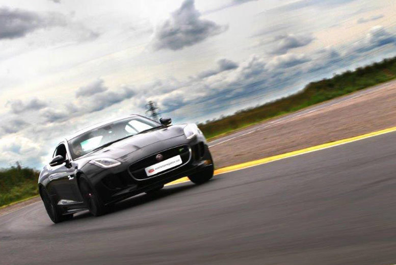 Activities: 3-Lap Jaguar F-TYPE R Driving Experience - 3 Locations!