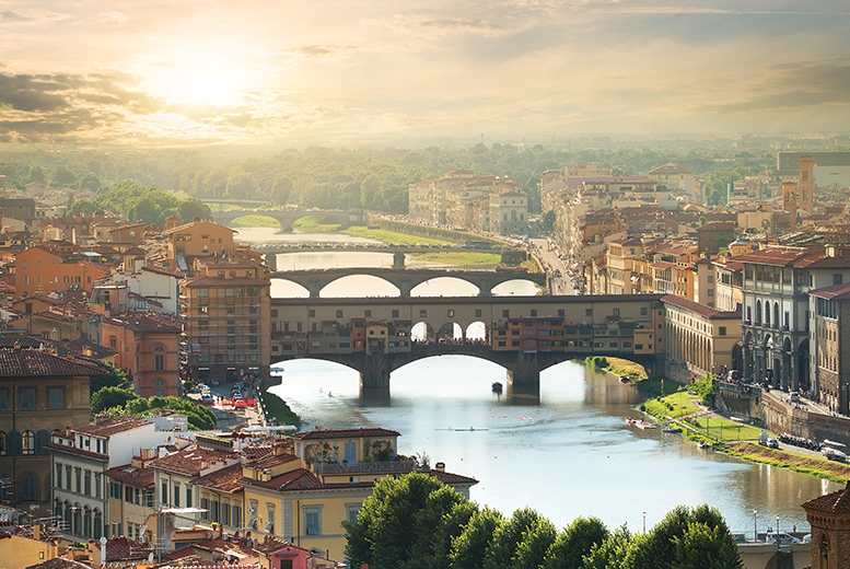 European City Breaks: 3* or 4* Treasures of Tuscany Tour, Excursions, Transfers & Flights