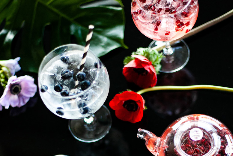 Beauty: Gin Afternoon Tea & Thermal Spa Experience for 2 @ 5* Crowne Plaza