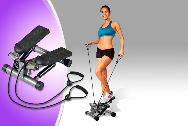 £44.49 instead of £75 for a Body Sculpture lateral stepper with resistance bands from Wowcher Direct - save 41% + DELIVERY INCLUDED!