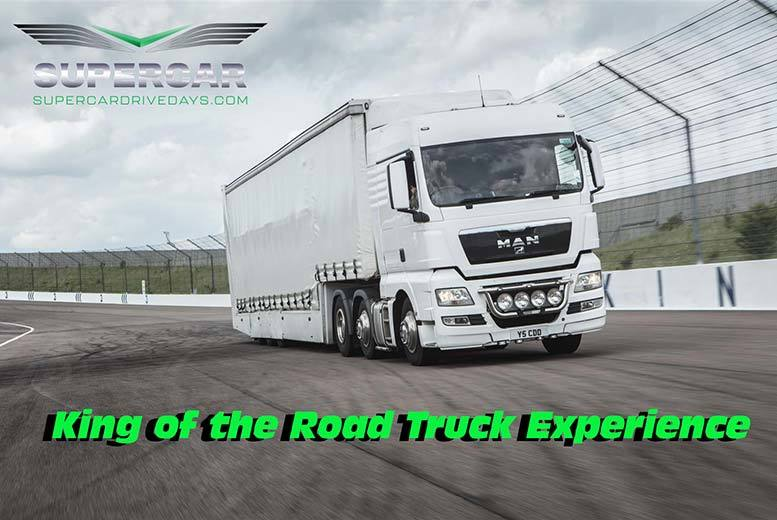 Activities: King of the Road Truck Driving Experience - 2 Tracks!
