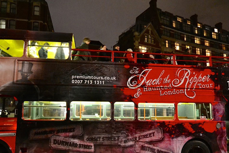 Entertainment: Jack the Ripper, Haunted London & Sherlock Holmes Tour