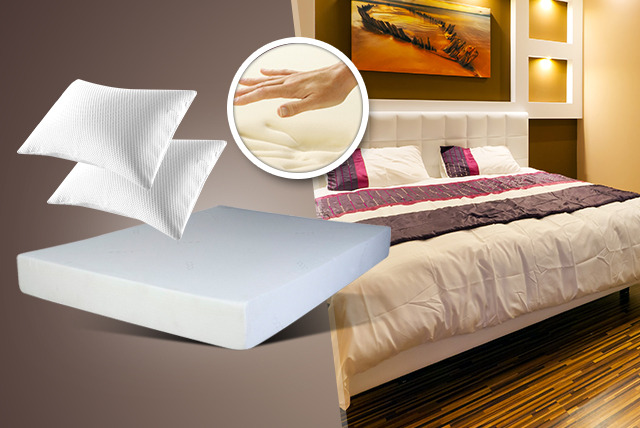 From £79.99 instead of up to £248 (from Trusleep) for a single, double, king, or super king memory foam mattress & pillows - save up to 68%