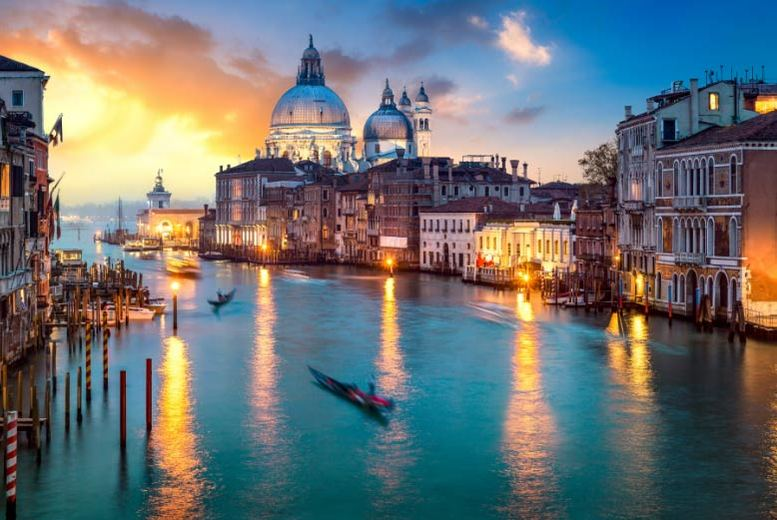 European City Breaks: Luxury Venice Escape, Breakfast & Flights @ 5* Hilton Molino Stucky