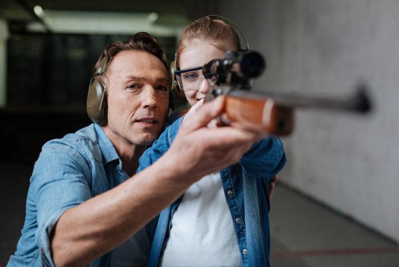 Activities: 3hr 'Raptor & Reload' Experience - Bird Handling & Target Shooting!
