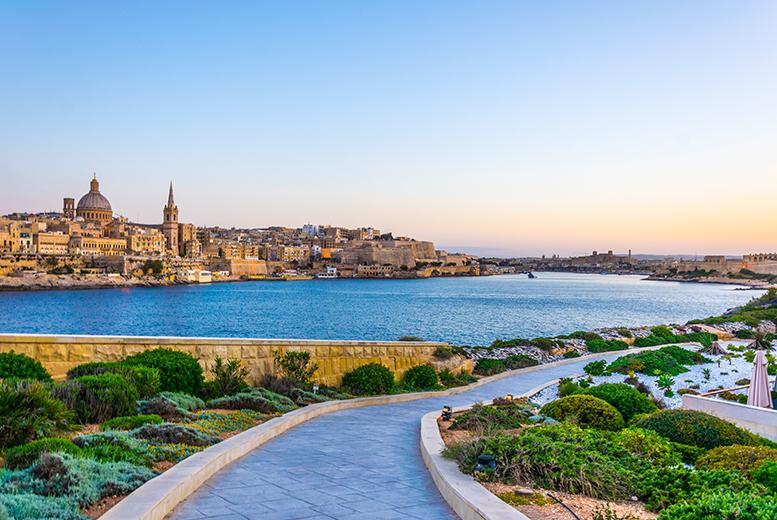 Beach Holidays: 5* Malta Getaway, Breakfast & Flights @ Radisson Blu Resort