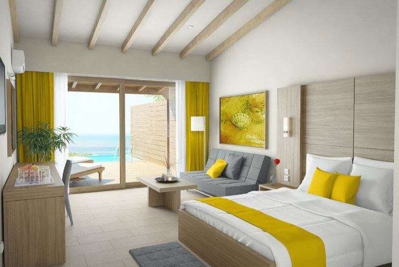Beach Holidays: 5* All-Inclusive Halkidiki, Private Pool Suite & Flights