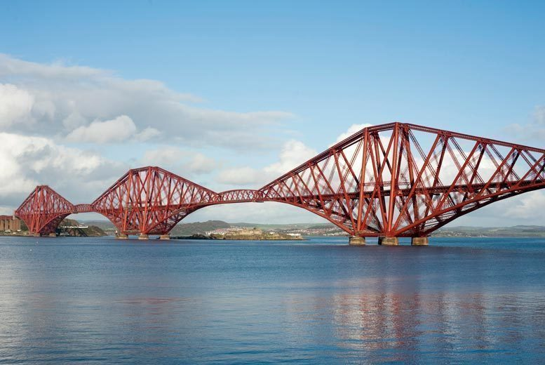 Entertainment: River Forth 3 Bridges Cruise & Prosecco Afternoon Tea for 2