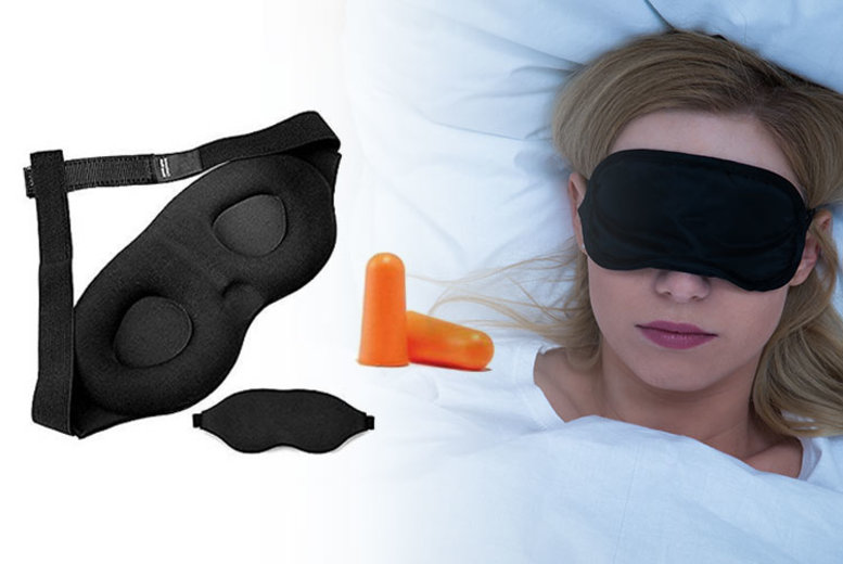 £2.99 instead of £9 (from Vivo Mounts) for a super-soft memory foam sleep mask and ear plug – save 67%