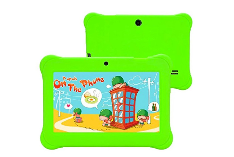 7 Kids' Android Tablet & Case 1GB RAM 8GB Storage  6 Colours!