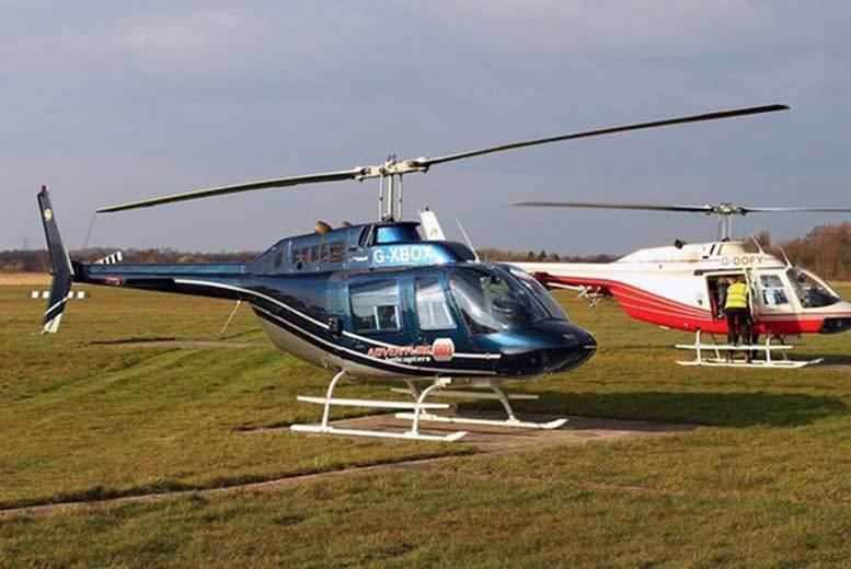 Activities: 6-Mile Winter Skies Helicopter Tour