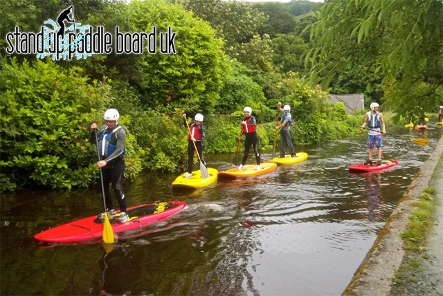 £23 for a three hour Paddle board experience for 1, £40 for 2, or £79 for 4 with Stand Up Paddle Board UK, Corwen – save up to 49%