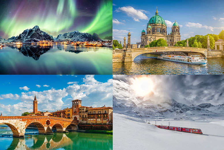European City Breaks: Mystery Holiday - New York, Bali, Iceland, Dubai, Disneyland & More!