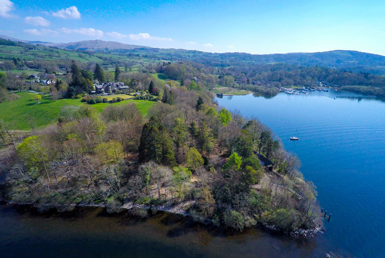 Spas & Country House: 4* Lake District Stay & Cream Tea for 2 - Windermere Cruise Option!