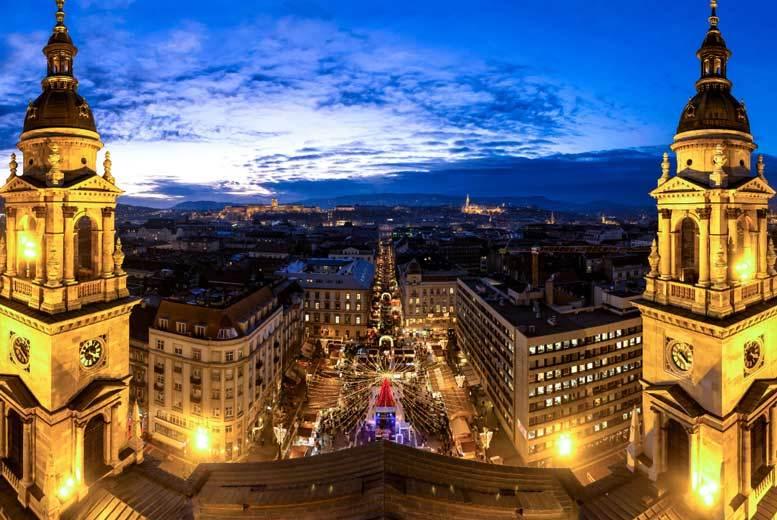 European City Breaks: Multi-City European Christmas Markets Getaway, Transfers & Flights