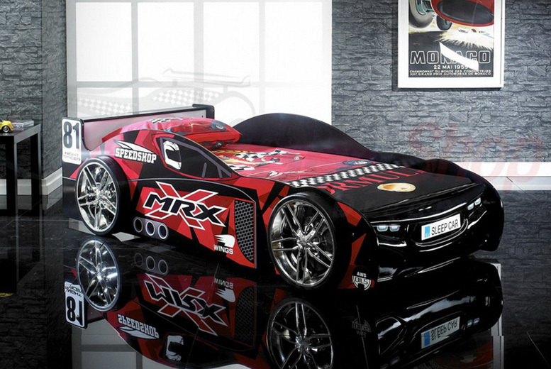 Kids Racing Car Bed with Optional Mattress! (£259)
