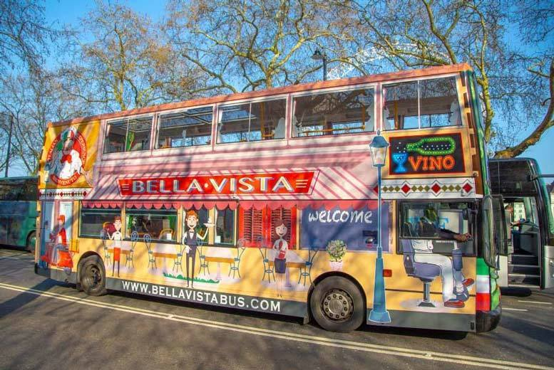 Entertainment: Upper-Deck London Bus Tour, Afternoon Tea & Prosecco from Golden Tours